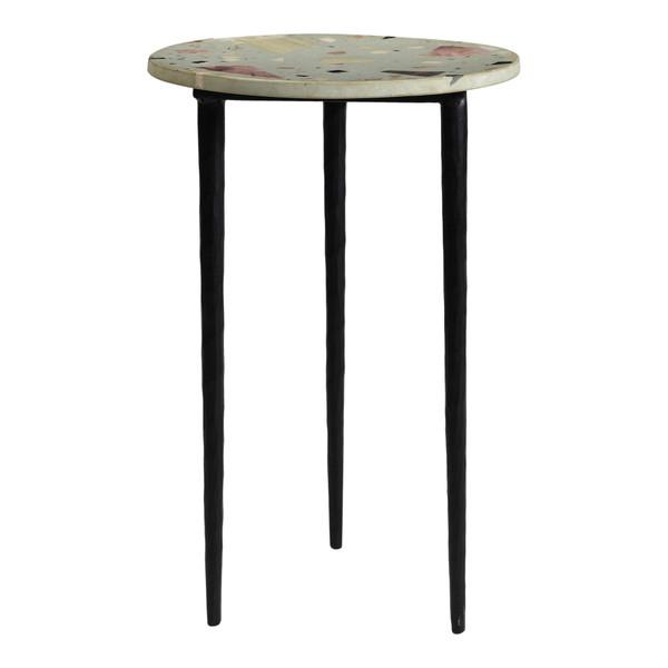 Moes Home Menta Terrazzo End Table QJ-1014-37