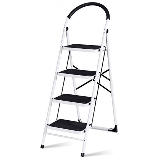 TL35311 Folding Heavy Duty Industrial Lightweight 4 Step Ladder
