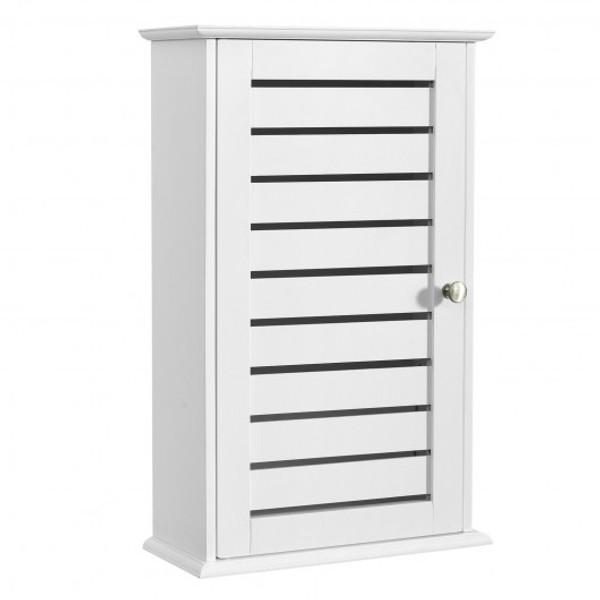 HW66006 Wall Mount Medicine Cabinet Multifunction Storage Organizer