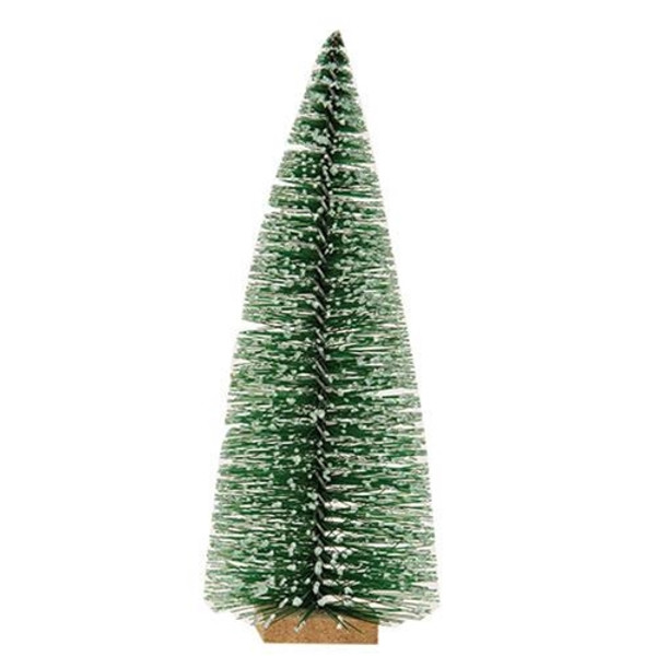 """Frosty Bottle Brush Tree 7"""" F17924 By CWI Gifts"""