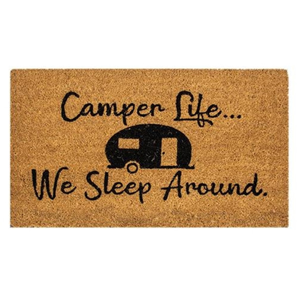 Camper Life Door Mat 30X18 G200015 By CWI Gifts