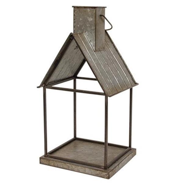 Metal House Lantern GMAF11135 By CWI Gifts