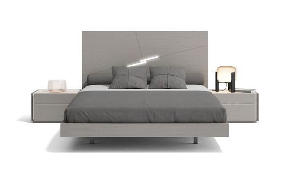 J&M Faro King Size Bed In Grey 17868-K