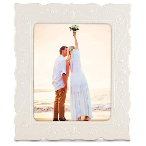 870305 French Perle White Frame 8X10