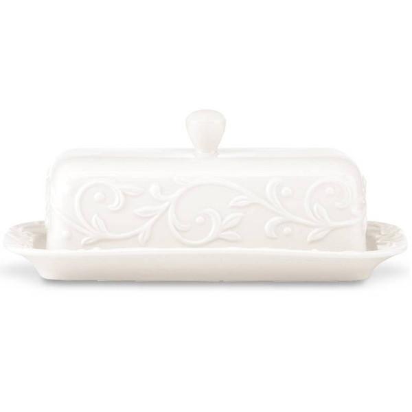 826012 Opal Inn Crv Dinnerware Covered Butter Dish
