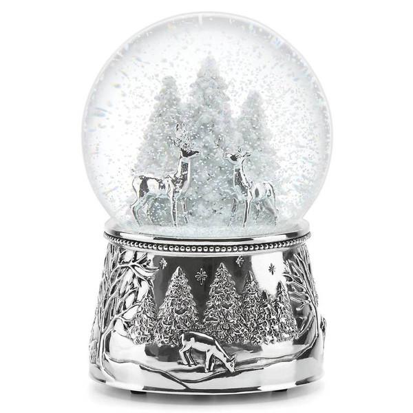 867074 North Pole Bound Musical Snow Globe