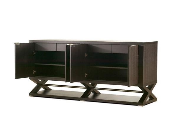 Allan Copley Halifax 4-Door, 4-Drawer, 2-Shelf Espresso Buffet 3410-30