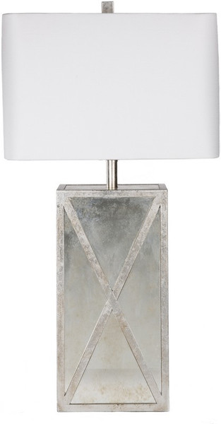 Antiqued Mirror Table Lamp JXLP-001