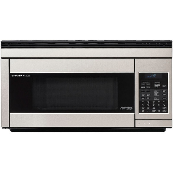 850 Watt Otr Convection Microwave; Stainless R1874T