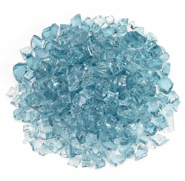 "AFF-AZBL12-10 1/2"" Azuria Recycled Fire Pit Glass 10 Lbs"