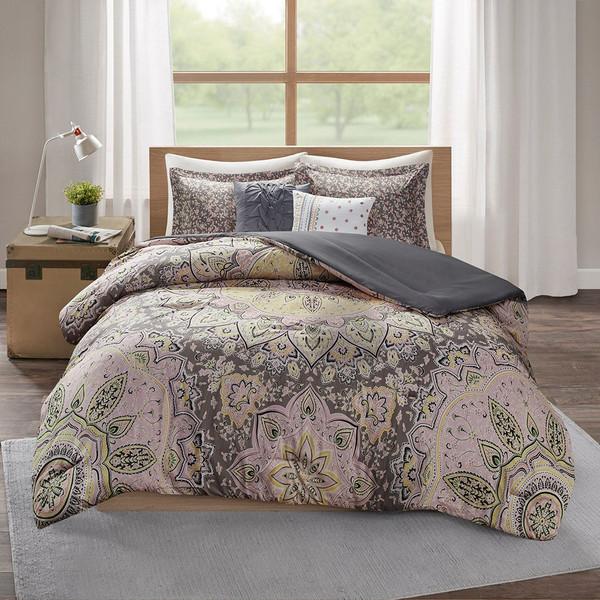 Odette Boho Comforter Set - Full/Queen By Intelligent Design ID10-1960
