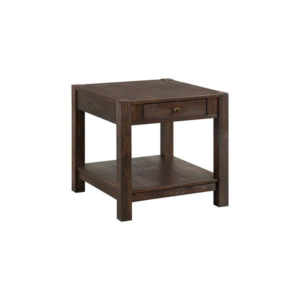 """Intercon Salem 24"""" End Table With Drawer SL-TA-2426-BCO-C"""