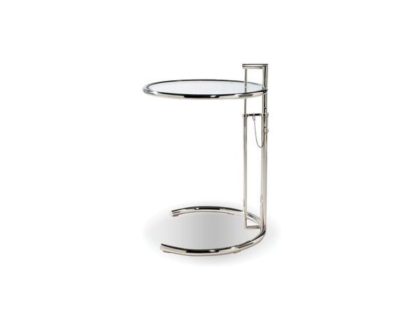 End Table Angel Chrome Finish WENANGEALUM By Mobital