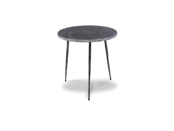 End Table Kaii Black Marble - Medium WENKAIIBLACMEDIU By Mobital