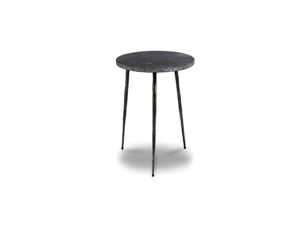 End Table Kaii Black Marble - Tall WENKAIIBLACTALL By Mobital