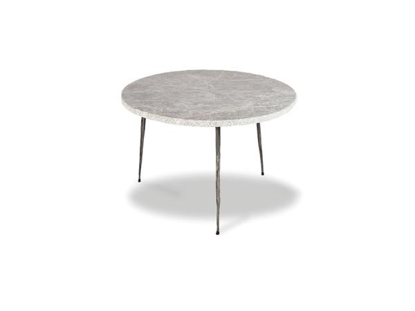 End Table Kaii Grey Marble - Low WENKAIIGREYLOW By Mobital