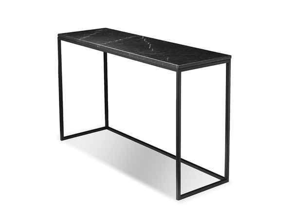 Top Of Sofa Table Onix Semi-Honed Black Marble 1/2 WSOONIXBLACSTTOP By Mobital