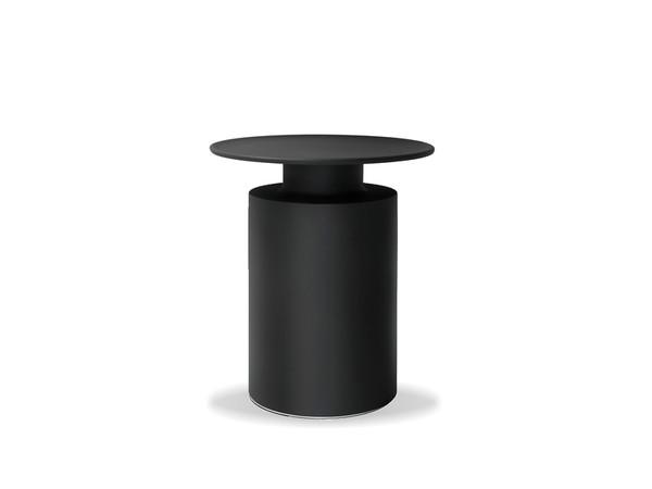 End Table Rook Matte Black Aluminum WENROOKMBLA By Mobital