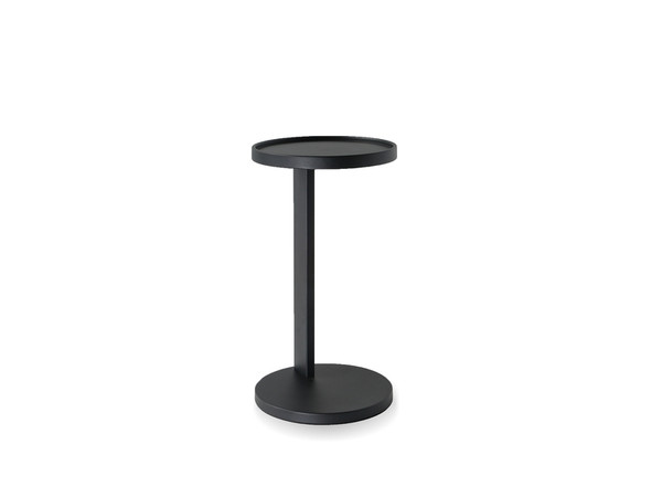 End Table Rookie Matte Black Aluminum WENROO9MBLA By Mobital