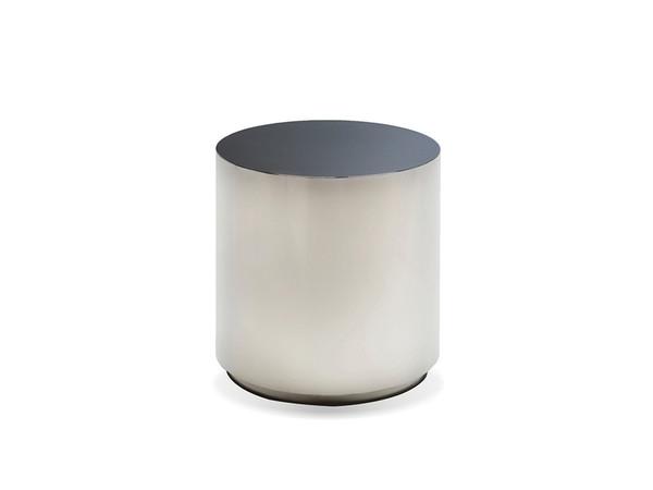 End Table Sphere Round, Black Stainless Steel WENSPHESTEEBLACK By Mobital