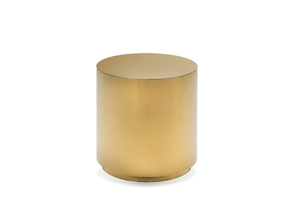 Sphere End Table - Gold WENSPHEGOLDROUND By Mobital