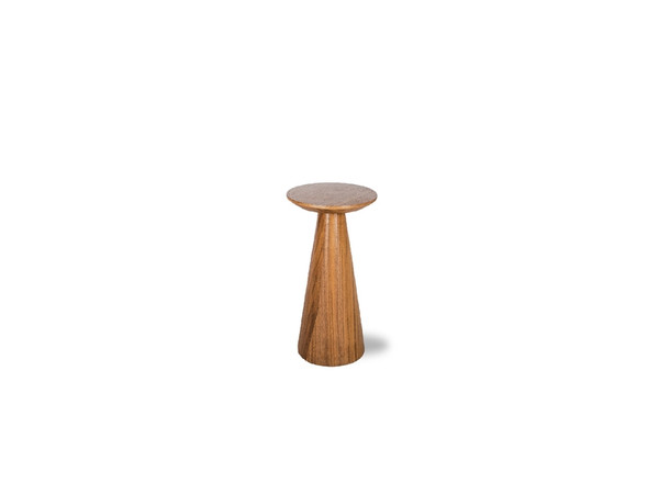 End Table Tower Low Natural Walnut WENTOWEWALNSMALL By Mobital
