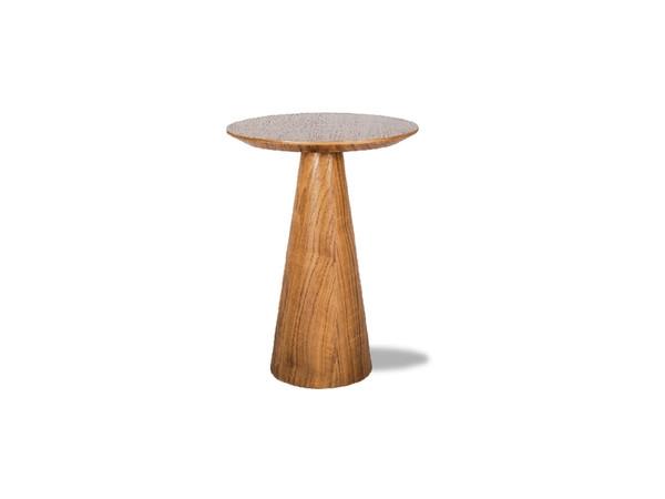 End Table Tower Medium Natural Walnut WENTOWEWALNMEDIU By Mobital