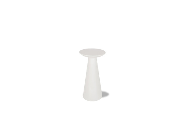 End Table Tower Low High Gloss White WENTOWEWHITSMALL By Mobital