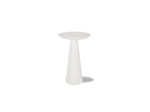 End Table Tower Medium High Gloss White WENTOWEWHITMEDIU By Mobital