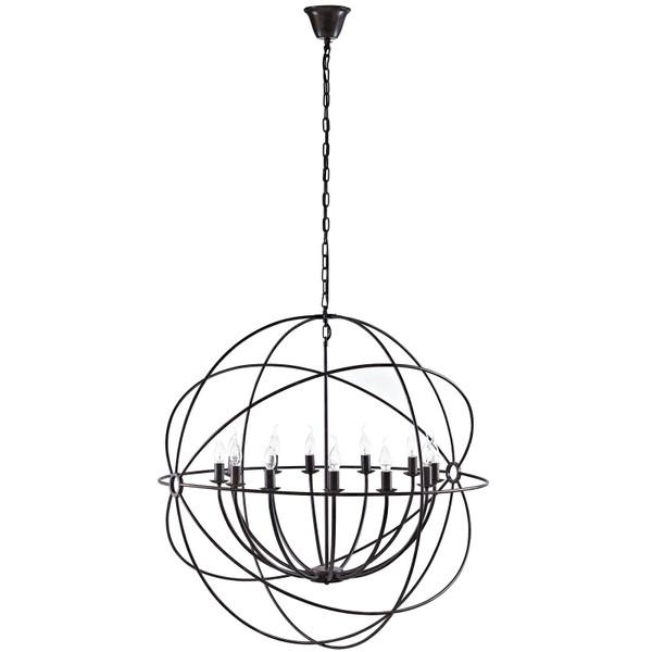 "Modway Atom 39.5"" Chandelier - Brown EEI-2111-BRN"