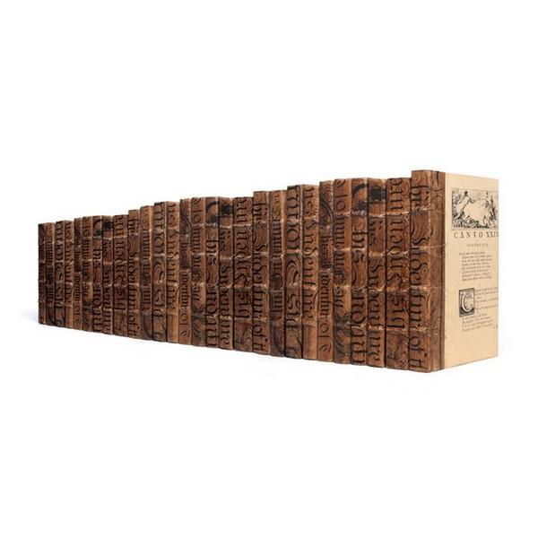 Brown Designer Decorative Books