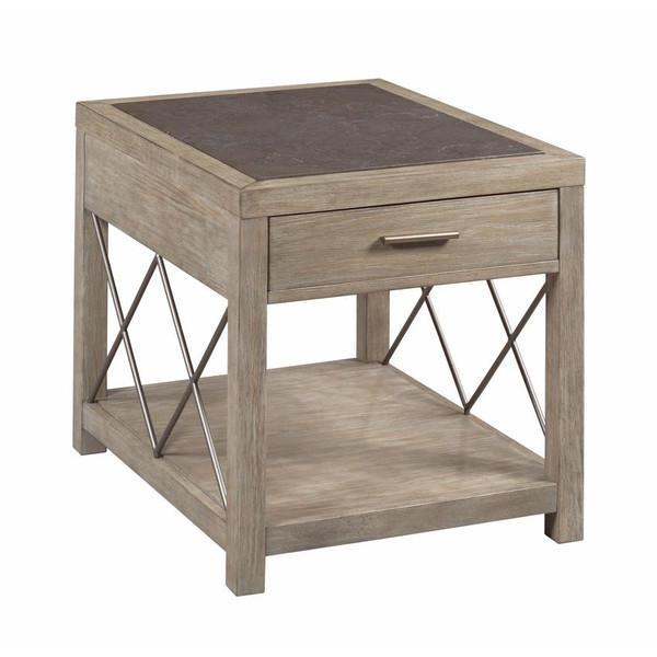 Hammary Rectangular Drawer End Table 042-916