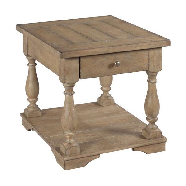 Hammary Rectangular Drawer End Table 048-915