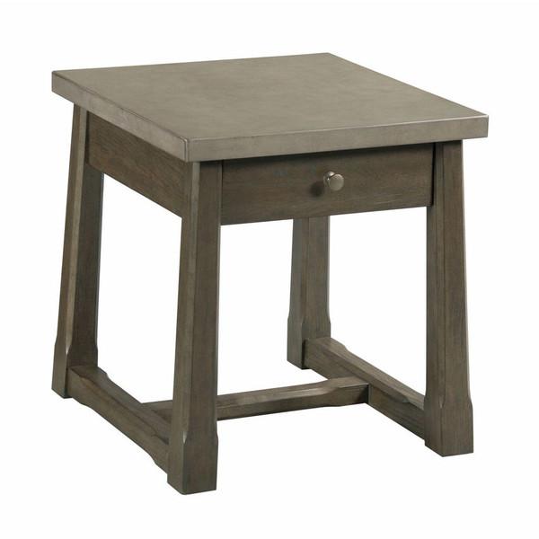 Hammary Rectangular Drawer End Table 059-915