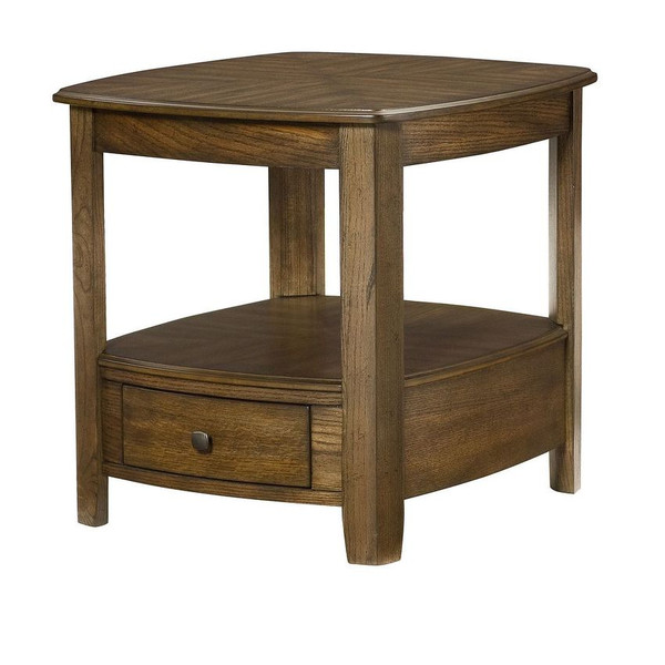 Hammary Rectangular Drawer End Table 066-915