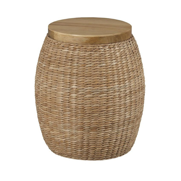Hammary Rattan Round End Table 090-1014