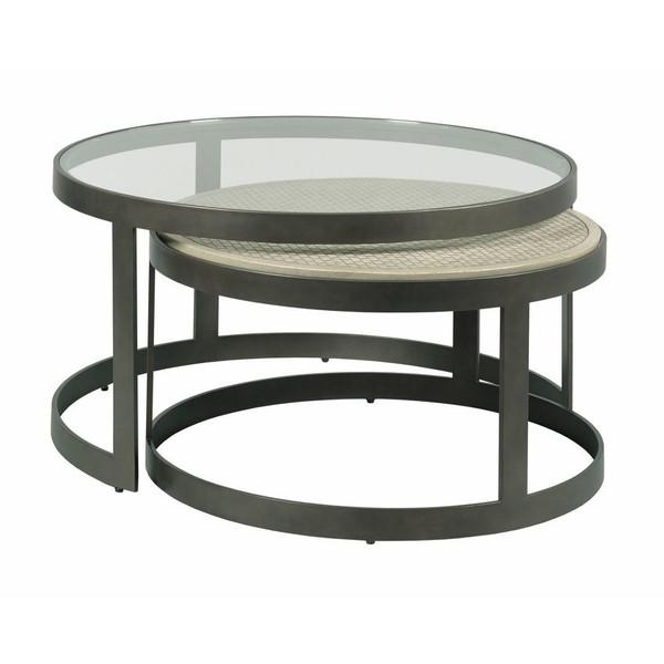 Hammary Concrete Nesting Coffee Tables 090-1047