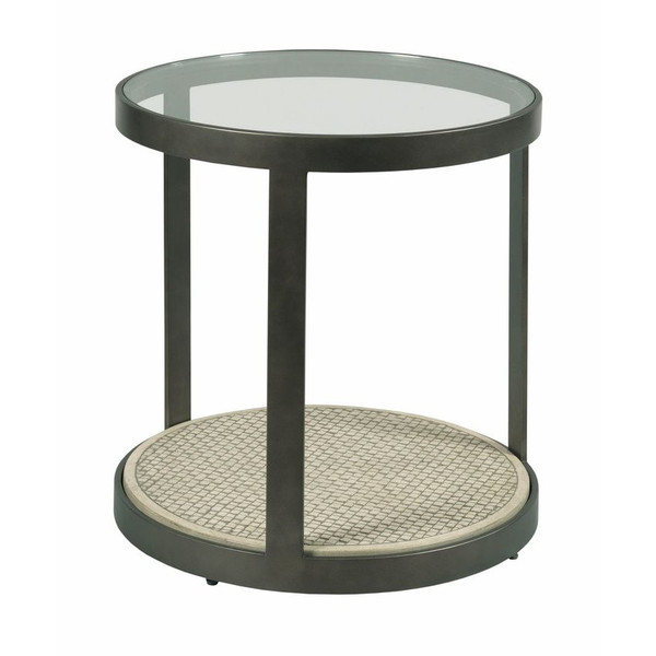 Hammary Concrete Round End Table 090-1048