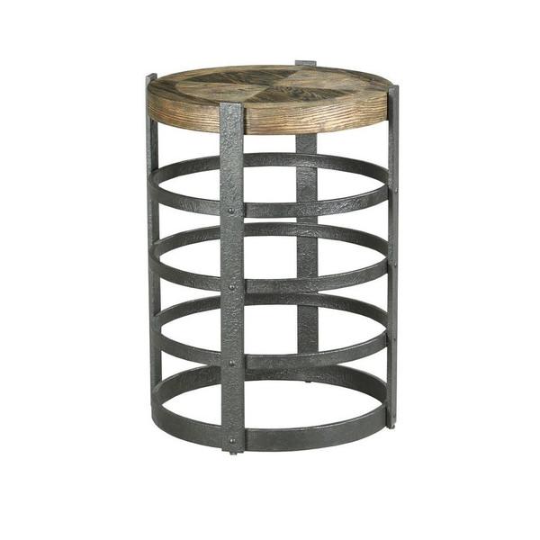 Hammary Barrel Strap End Table 090-973