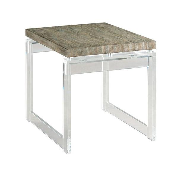 Hammary Acrylic End Table 090-998