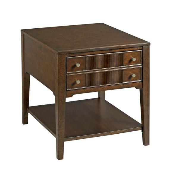 Hammary Rectangular Drawer End Table 674-915