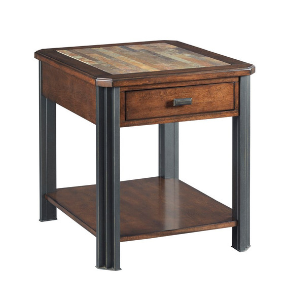 Hammary Rectangular Drawer End Table 675-915