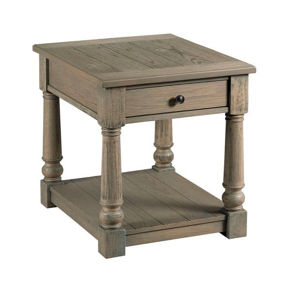 Hammary Rectangular Drawer End Table 718-915