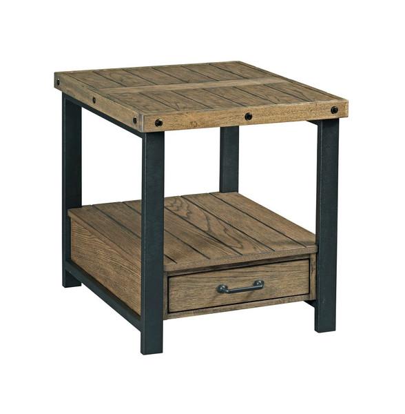 Hammary Rectangular Drawer End Table 790-915