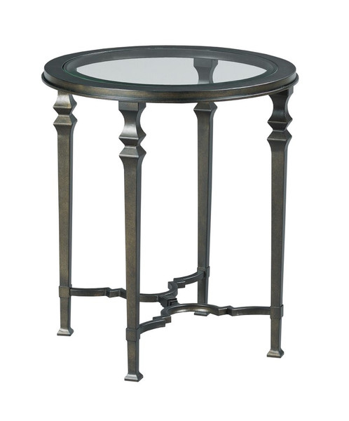 Hammary Round End Table 840-918