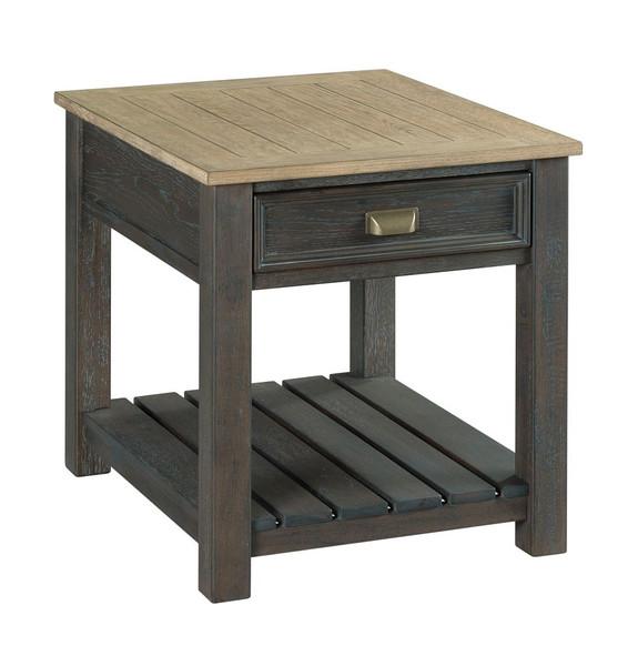 Hammary Rectangular Drawer End Table 953-915