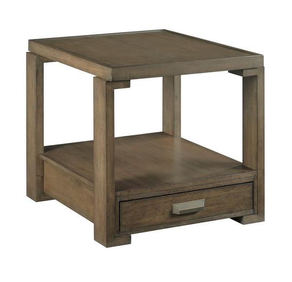 Hammary Rectangular Drawer End Table 984-915
