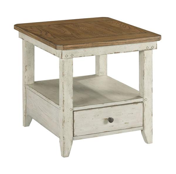 Hammary Rectangular Drawer End Table 988-915