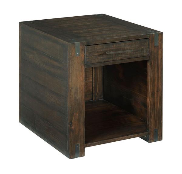 Hammary Rectangular Drawer End Table 989-915