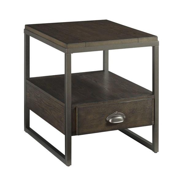 Hammary Rectangular Drawer End Table 990-915